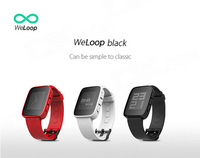 i-watch1.26 Inch LCD iOS & Android Smart Watch w/ Bluetooth 4.0 Weloop Tommy waterproof Passometer Sleep Tracker