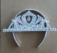 2014 NEW Design Frozen Tiara Princess Anna Tiara Golden & Silver Frozen Crown 50pcs/lot Frozen Anna Crown Cosplay Tiara
