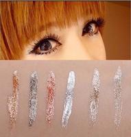Makeup Shimmer Eyeliner Liquid eyeliner Bling Charming Eyes Silicon Super Slim brush Long Lasting Waterproof