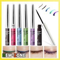 Waterproof Liquid Eyeliner Black Coffee Blue Purple Green Colorful Eyeliner Makeup Cosmetic