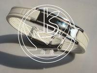 Free Shipping fashion silicone titanium magnet energy bracelet,High Quality!