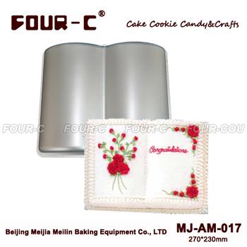 Book Aluminum Cake Baking Dish Aluminum Cake Mold Pan Baking Aluminum forms for cake ...