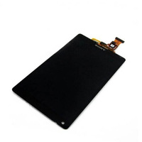 Wholesale-LCD Display +Touch Screen Digitizer Glass Assembly For Sony Xperia ZL L35H LT35I White and Black color
