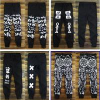 DG-38 Harajuku Hip hop pants Fashion Outdoor sport pants Skinny  Sweatpants Joggers jogging pants men harem street dance HIPHOP