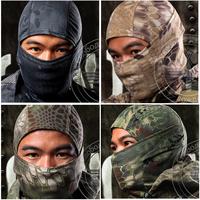 Chiefs Rattlesnake Tactical Airsoft Hunting Wargame  Breathing Dustproof Face Balaclava Mask Motorcycle Skiing Cycling Full Hood