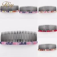 Fashion Beauty Lady Hair Comb Clip Cuff Tassel Chain Head Headpiece Boho  #1730