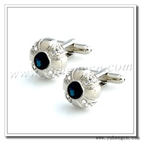 Free shipping YH-1726M  New Elegant  Blue Rhinestone Cufflinks, Crystal Cufflinks- Factory Direct Selling