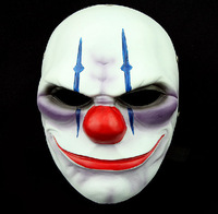 Free Shipping New Resin Online Payday 2 Chains Mask Heist Joker Masquerade Halloween Cosplay Mask    4
