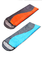 Outdoor winter camping envelope Double person sleeping bags can splicing together a couple of adult sleep bag