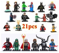 21pcs star wars SUPER HEROES minifigures Elighten Brick BLOCKS Compatible With Legao Free Shipping* without original box