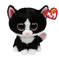 Free Shipping Original TY Big Eye Animals Kids Plush Toys Kawaii Pepper the Cat Stuffed Dolls For children Gifts 15CM