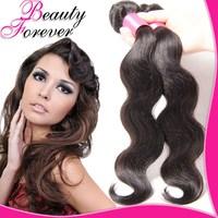 Beauty Forever Hair Virgin Indian Hair Body Wave, 1Bundle Up Indian Virign Hair Weft 100% Human Hair Extension BFBW03