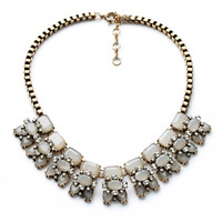 New arrival romantic fashion necklaces for women 2014 gold plated statement jewelry bib choker necklace