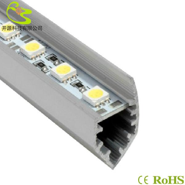 10pcsx50cm 5050 SMD 72leds/m V led bar strip light DC12V aluminium led bar light no waterproof led tube Hard LED Strip 5050(China (Mainland))