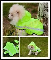 fashion cut Pet raincoat dog raincoats Pet reflective vest dog clothes poncho Medium Small dog raincoat S\M\L size