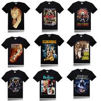2014 Personality 3d t-shirt men,rock style t shirt,3d printed Skeleton men tshirt o neck camisetas,Hallowmas cool mens t shirts