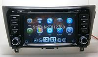 "Free shipping 8"" Car DVD GPS for Nissan X-Trail / Qashqai 2014 with Navigation Bluetooth,Ipod,TV,Radio,3G USB Host,Free GPS map"