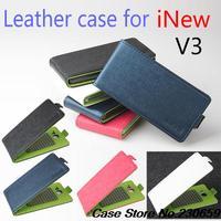 For Inew V3 Case Flip case cover for Inew V3,for Inew V3 stand Flip Cover  free shipping