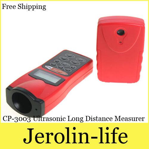 CP-3003 Ultrasonic Long Distance Measurer Electronic Digital Range Finder with Laser Pointer(China (Mainland))