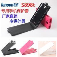 For lenovo S898T Flip leather case for lenovo S898T,for lenovo S898T genuine Leather Case Flip cover