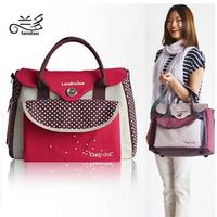 L0027 Mother Infanticipate Mummy Baby Mom Bags Fashion Diaper Nappy Maternity Bag Multifunctional Cross-body Handbag