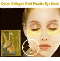 1 Pairs Anti-aging Crystal Collagen Gold Powder Eye Mask Crystal Eye Mask  Moisturizing Eye Patches