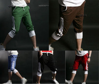 Mens Fashion New Stylish Sport Short Pants Summer Casual Cropped Trousers Thin
