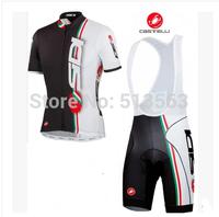 High Quality 2014 Castelli Sidi Pippo Black Cycling Clothing Cycling Jersey+Cycling Bib Shorts Bike Bicycle Clothing Cycling