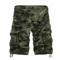 Quality-guaranteed men cargo shorts military army cargo shorts jungle size 29-38 Free shipping CK352