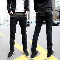 Fashion Men Stylish Designed Korean Stylish Slim Fit Casual Long Pants Jeans New