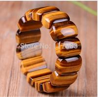 Tiger's eye hand row bracelets natural  crystal bracelet