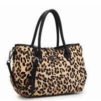 Wholesale HOT sale100% genuine leather handBags fashion leopard leather bag LOW MOQ free shipping 3954women leather handbags