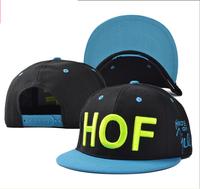 2014  hot sell HOF hip-hop hat  Flat-brimmed hat baseball cap