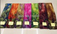 10pcs/lot Fashion Tree Leaf Print Scarf Wrap Shawl Women's Accessories, Free Shipping