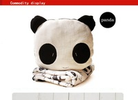 2 in 1 Panda Warming Cushion Blanket Air Conditioning Nap Blanket Nice Gift Hold pillow
