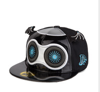Star of the same paragraph  Machine doll hip hop hat  Korean men and women small wings flat brimmed hat
