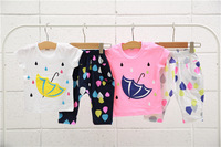 NEW free shipping Baby Girl Summer Clothing Sets Girl's Short sleeve T Shirt + Short Pants Suits Kids Sets Children Shorts