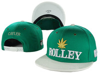 Cayler & Sons ROLLEY Gold Weeds Snapback hats Fashion Trend Adjustable mens womens baseball caps Free Shipping
