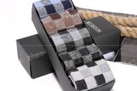 10pcs=5pairs=1lot ,2014 New merino wool socks thick ski socks men thermal high hiking socks