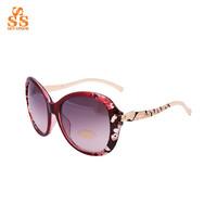 2014 Newest Cheetah Frame Classic Design Sun Glasses, 100% UV Protection Gafas De Sol, Lady's Fashion Retro Oversize Shades,G367