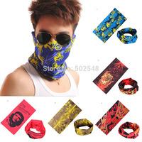 Multifunctional scarf Headband Outdoor Sports Turban Sunscreen Magic Veil Bicycle Seamless Bandana Free Shipping 30 PCS