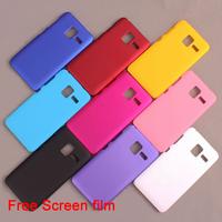 Hot sale Lenovo A850+ Case Mobile Back Cover Case Lenovo A850+ Plastic Case With Free Screen Film