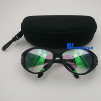 wholesale 6pcs/lot 2 lays protection 1064 YAG Laser Safety Glasses Eyewear Laser Safety Goggles Free shiping DHL or EMS