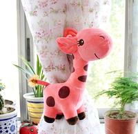 HD0115 Large 28cm height giraffe creative cartoon plush cloth curtain buckle children bedroom curtain accessories