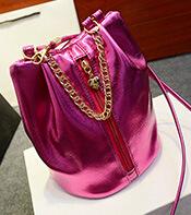 Promotion cheap ladies handbags designer envelope bag of high quality leather bucket bag chain bag fashion purse black 5colors