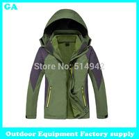Dropshipping new hot winter Camping Hiking Mountain Jacket Outdoor jacket Sportswear Outerwear jacket waterproof windproof men