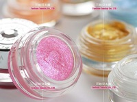 12pcs/lot LOVE ALPHA eye shadow eyeshadow cream Light shimmering gems eyeshadow cream 10g 14 kinds colors Makeup free shipping