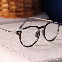 I-bright New Arrival Designer Retro Round Frame Glasses Frame Fashion Classic Erika Glasses Men/Women Decoration Eyewear