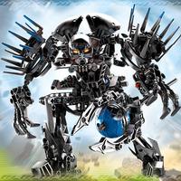 Assembling biochemical warrior robot demon ghost ninja blocks toys/gifts for children/Christmas gifts