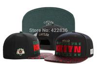 Cayler & Sons BKLYN leopard Snapback hats High Quality mens fashion adjustable baseball caps Free Shipping